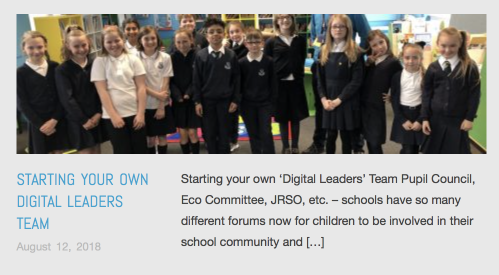 Starting Your own Digital Leaders Team