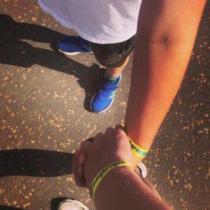 Kiltwalk together