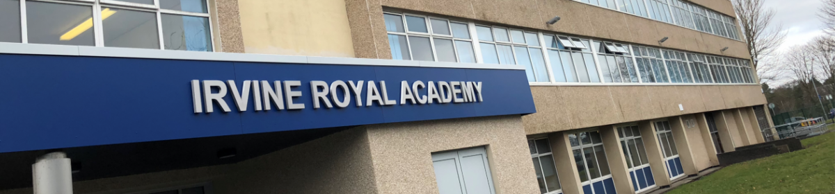 Irvine Royal Academy New S1