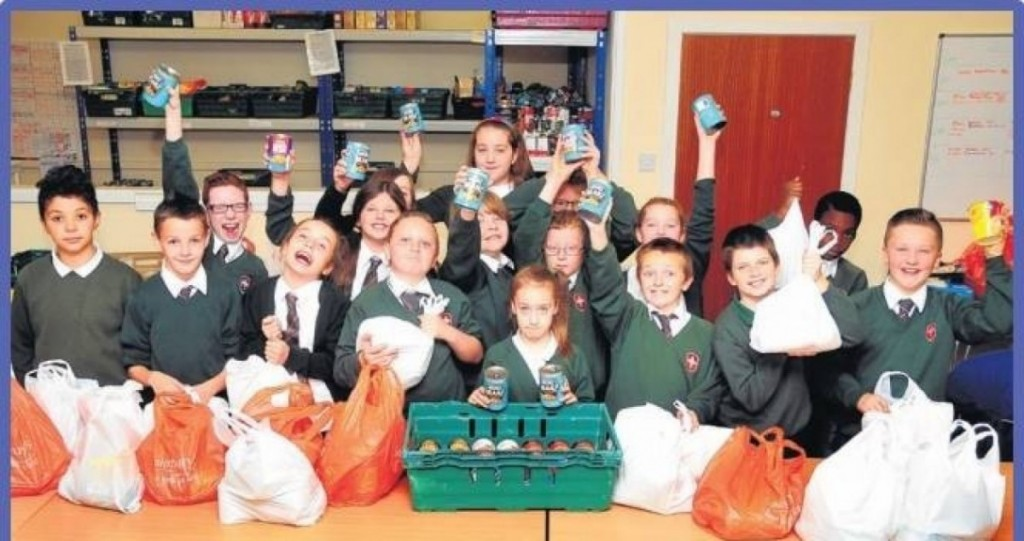 St Eunan's food bank