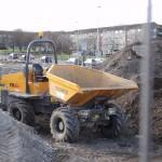 Yellow Tipper Truck