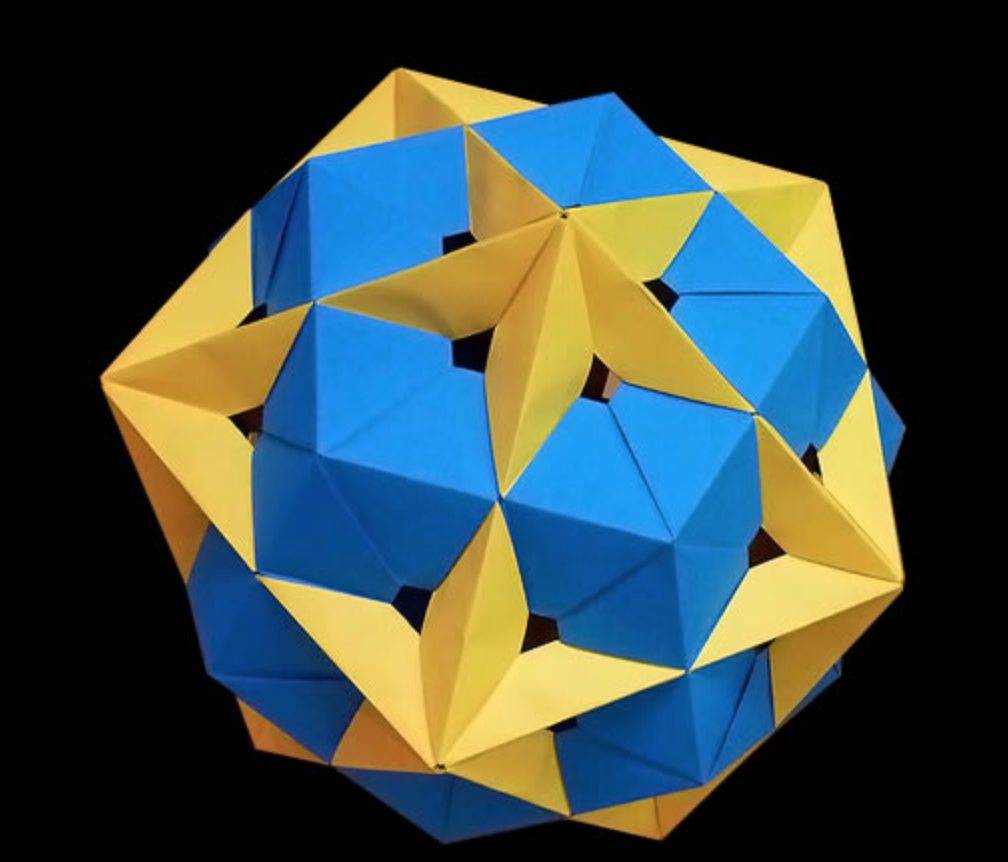 How to Make an Origami Stellated Octahedron : 4 Steps - Instructables | 862x1008