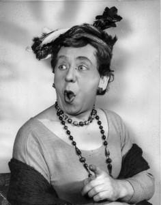 Alec Finlay Pantomime Dame