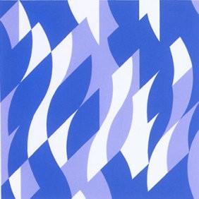 Two-blues - http://www.op-art.co.uk/bridget-riley/