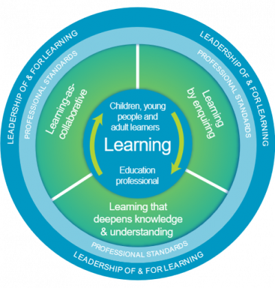 National professional learning model image