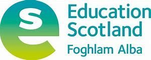 Education scotland logo - large letter E with small letter S inside