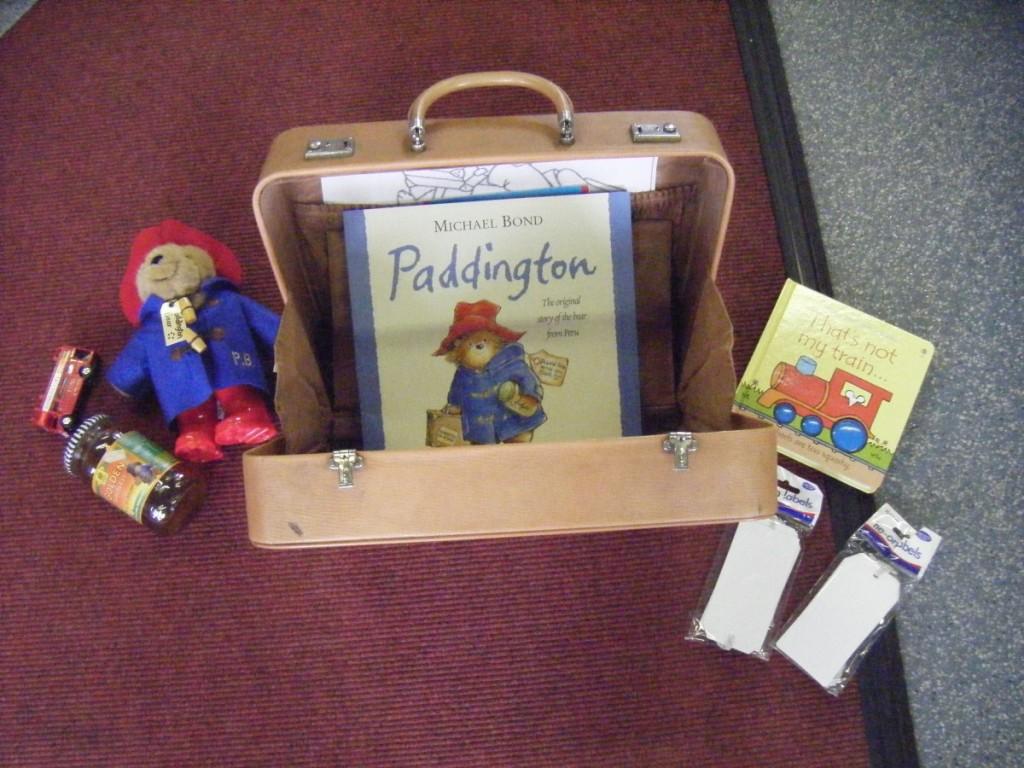 My Paddington story sack