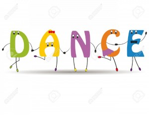 13682601-Word-dance-with-colorful-and-funny-letters-Stock-Vector-dance-cartoon-kids