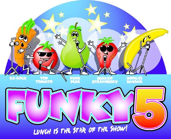 funky 5 logo