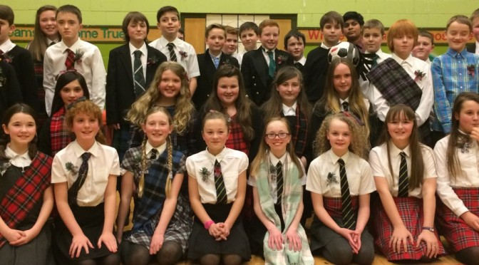 P7 Burns Supper