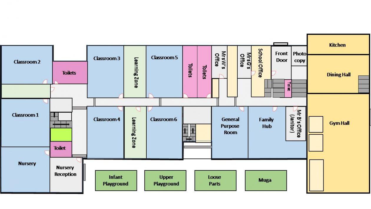 Ground Floor / Outside Map
