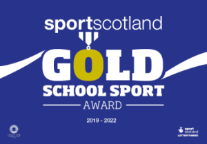 Sportscotland Gold School Sport Award Winners 2019-2022