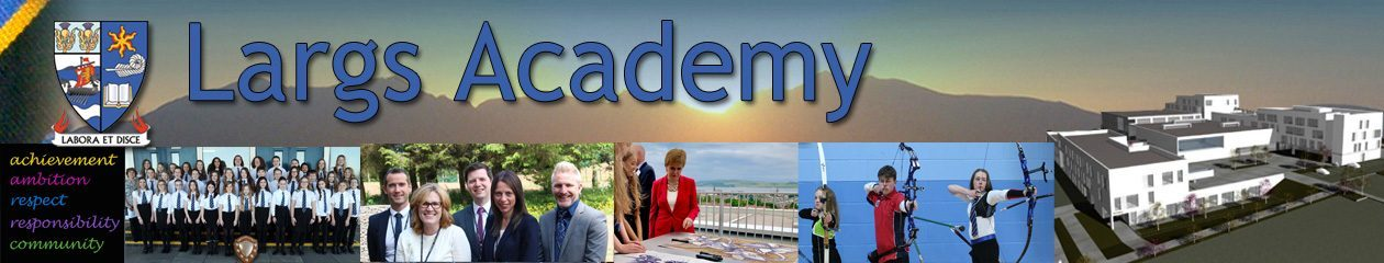 Largs Academy Developing the Young Workforce