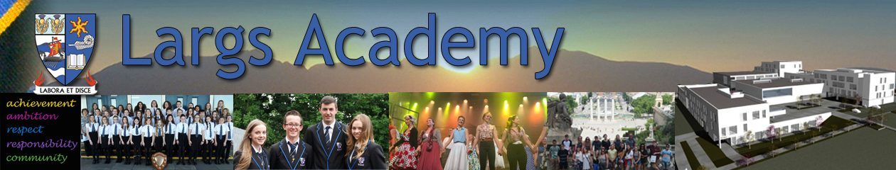 Largs Academy Social Subjects