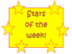 Stars of the Week!* | Whitehirst Park Primary 3a