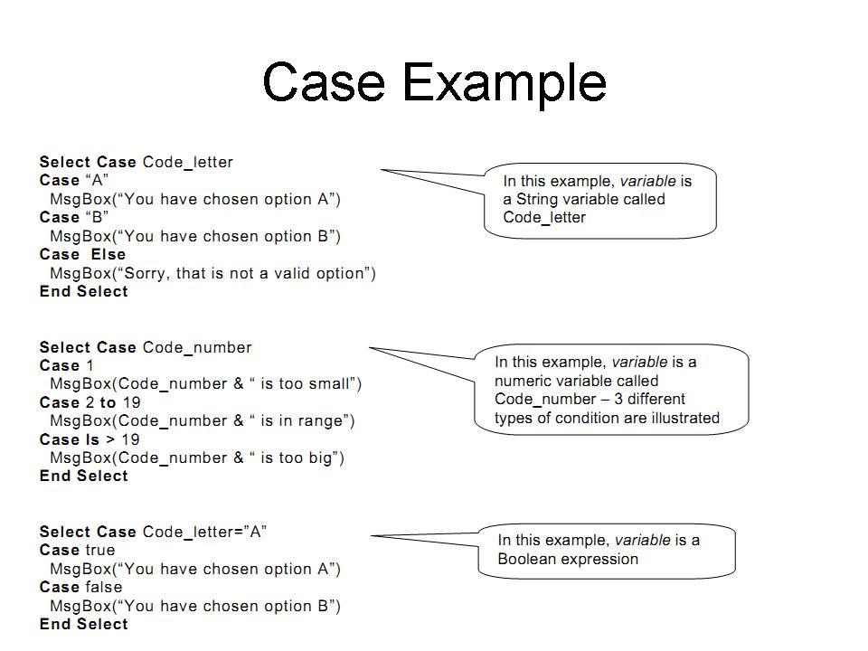 Select Case Computing