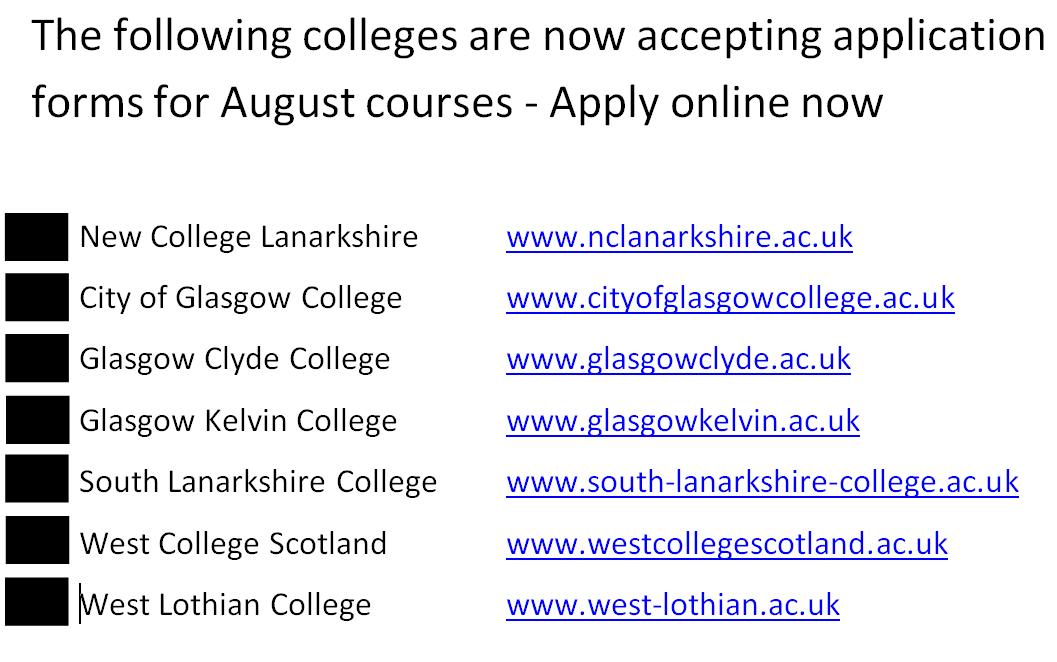 college-update-school-website