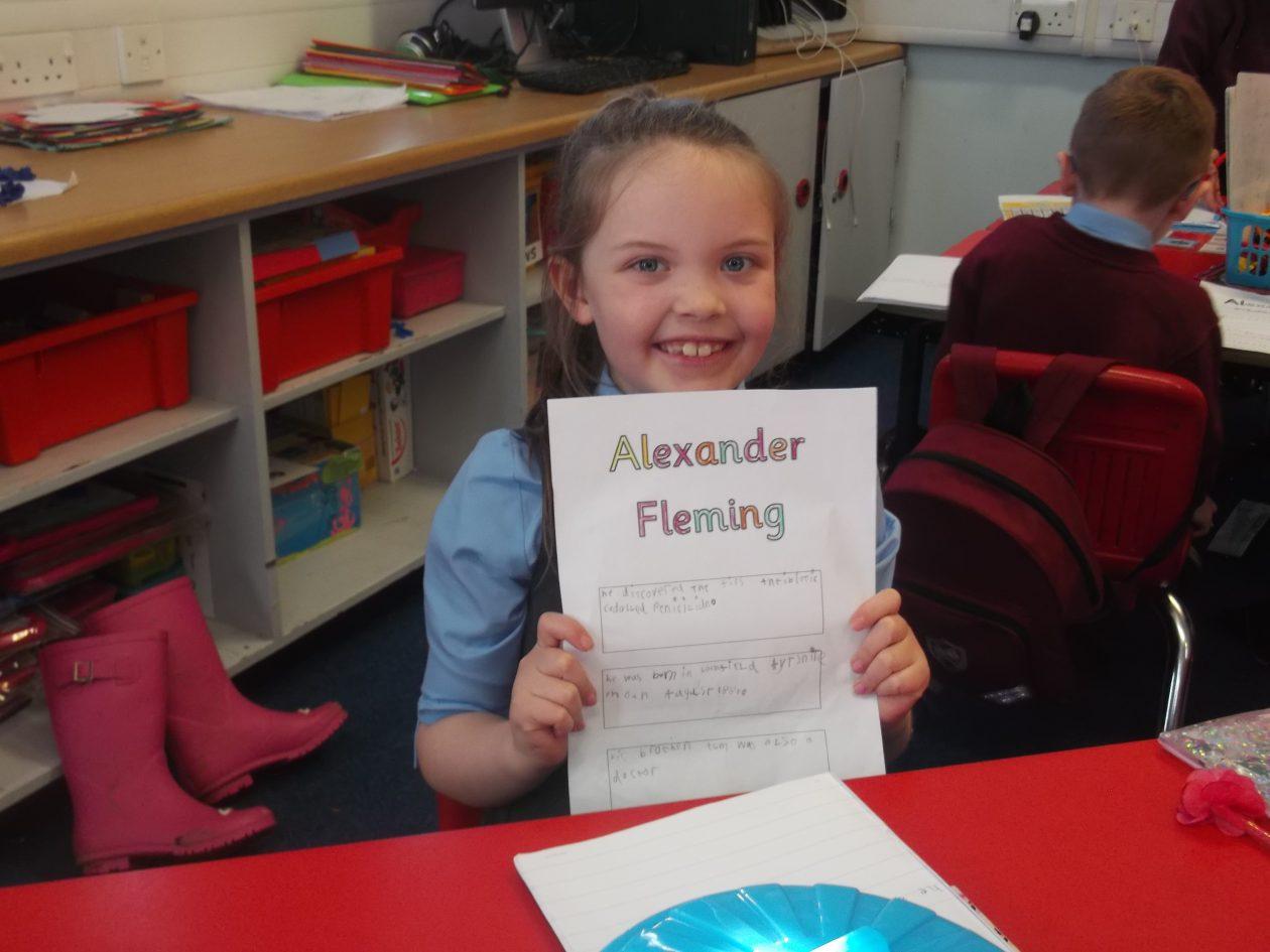 alexander fleming education