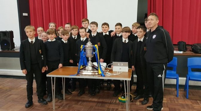 SCOTTISH CUP VISIT TO BHS