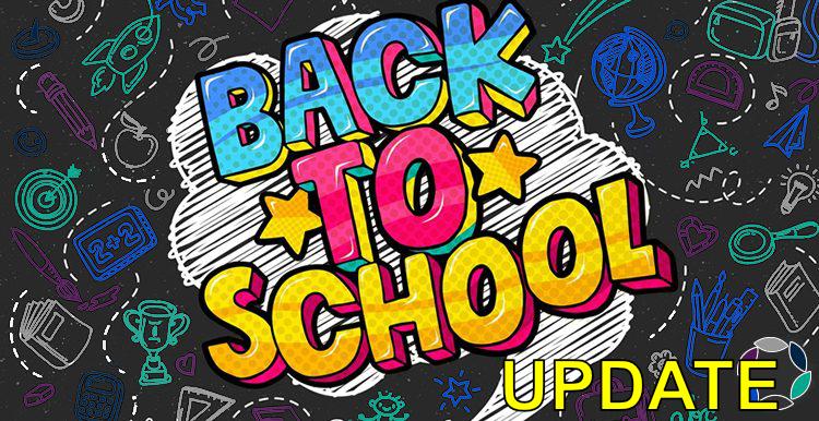Return to school: Update