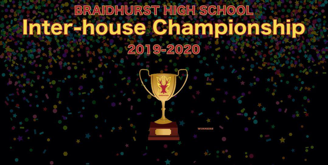 Inter-house championship 2019-2020