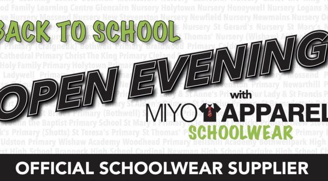 MIYO APPAREL: OPEN EVENING