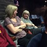 Mrs Mackenzie and Mrs Dodds look like they're having fun!