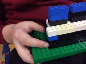 Mark's model even had the hole made by hitting the iceberg!