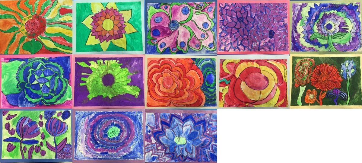 Flower Show Art