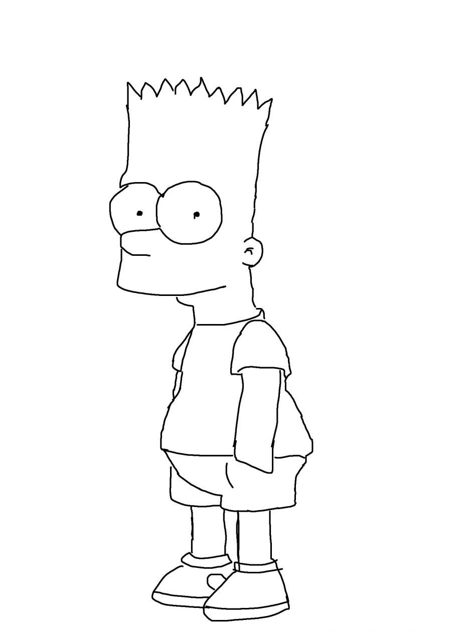 Bart Simpson by Luke