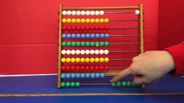 Abacus maths- Zara and Emma