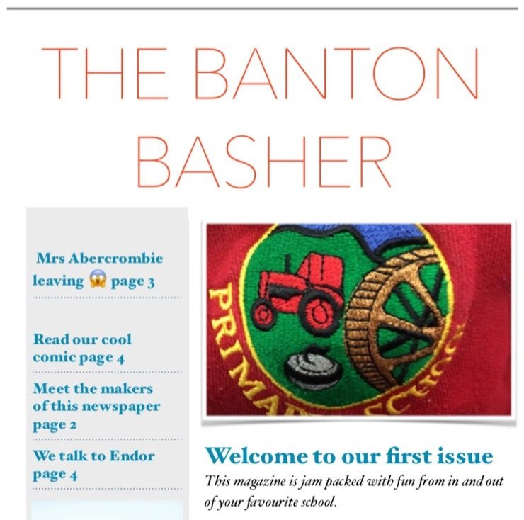 LAST DAY TO GET THE 1ST EDITION OF THE BANTON BASHER