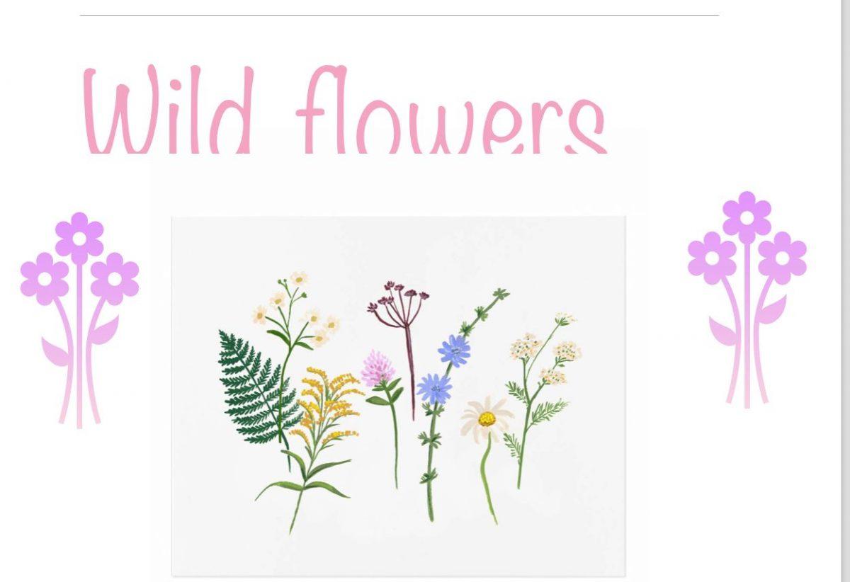 Flower sign rhea