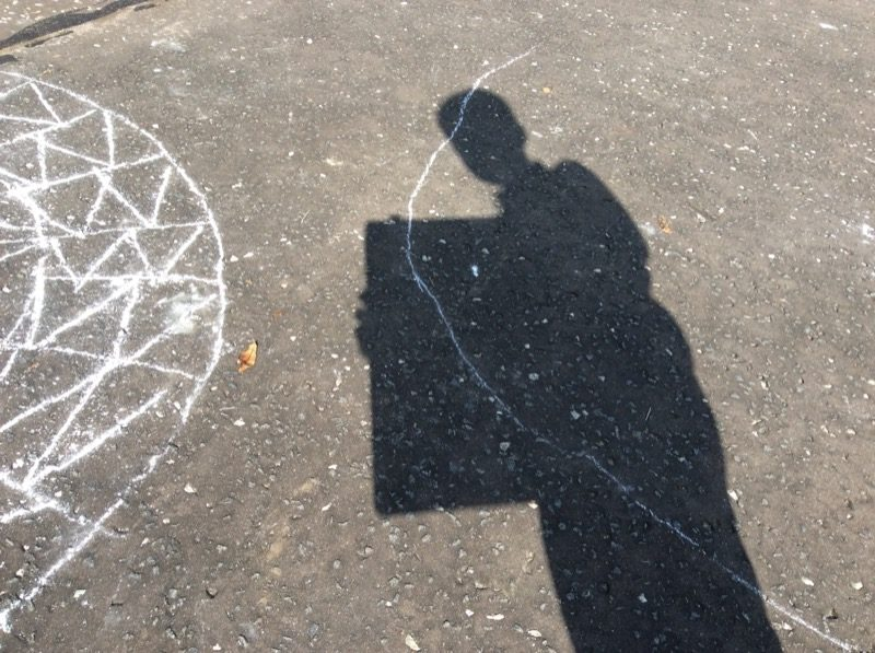 Shadows in the playground