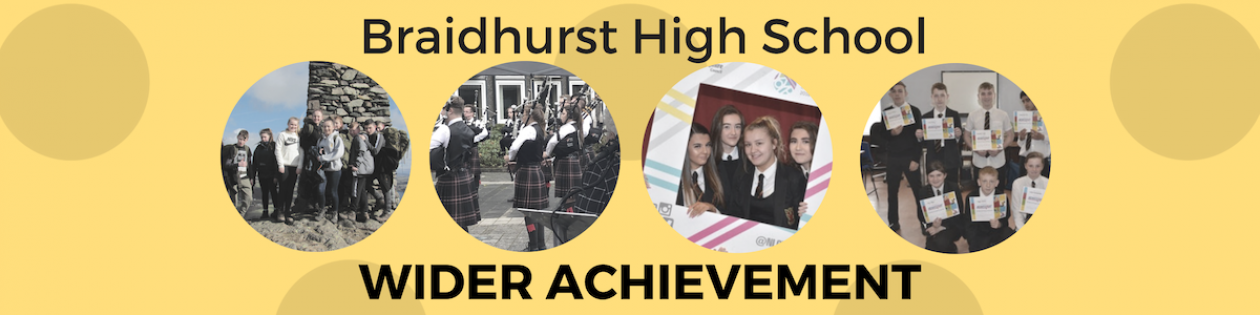 Braidhurst Wider Achievement