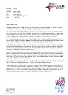 NLC Letter