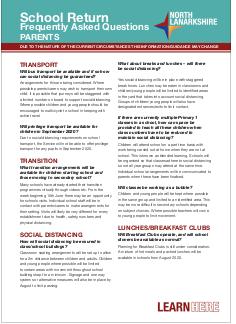 Education FAQs