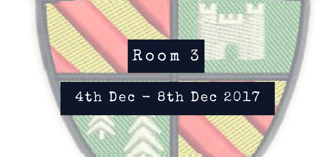 A Week With Room 3