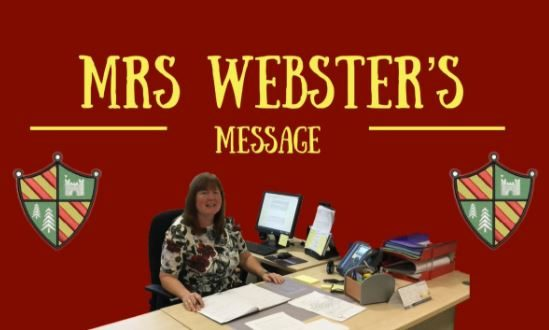 Mrs Webster's Message
