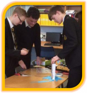 Team work and problem solving in S3 Accounting