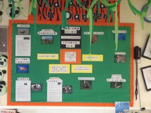 Our Topic Wall