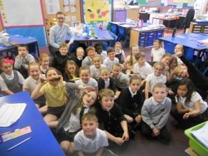 Mr Johnston's last day