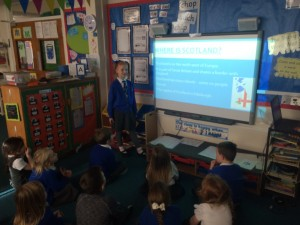 This confident young lady  captivated her p1/2 audience today. They learned lots of new facts.