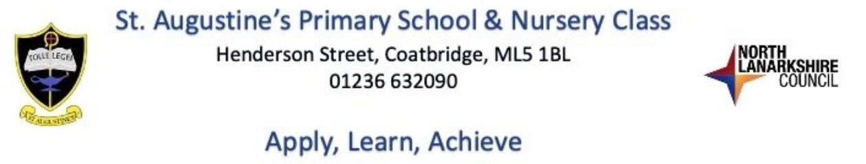 St Augustine's Primary School & Nursery Class
