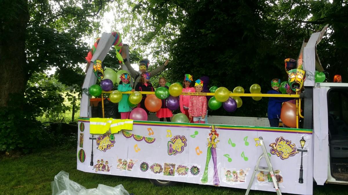 Gala Float Parade Winners