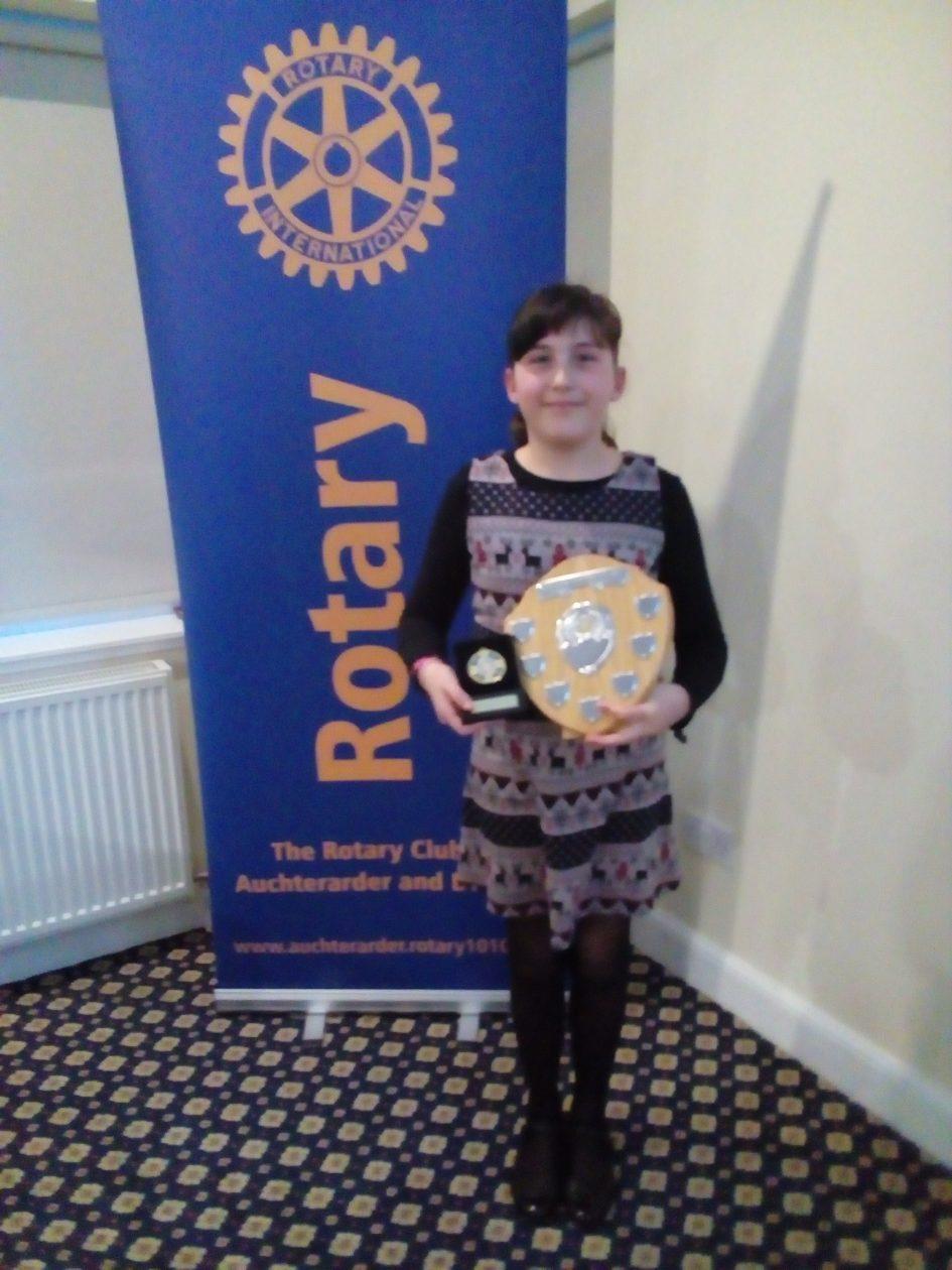 Rotary Young Writer Winner