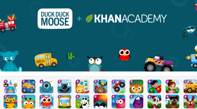 Free apps from Duck Duck Moose!