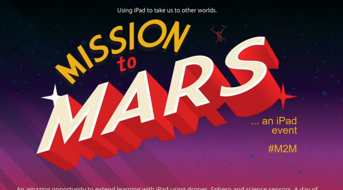 Mission to Mars – a unique iPad event