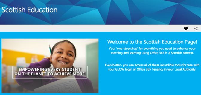 Microsoft Scotland Education