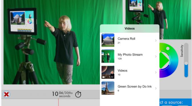 Green Screen magic!